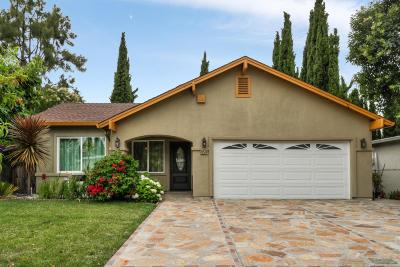 Single Family Home For Sale: 42574 Hamilton Way