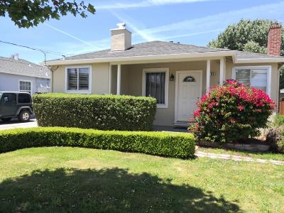 Millbrae Single Family Home For Sale: 196 Aviador Avenue