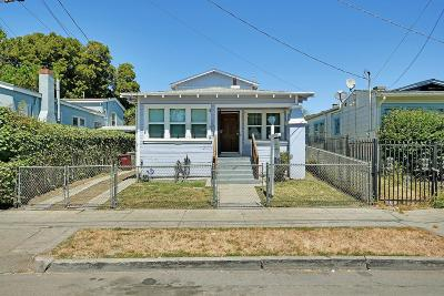 Oakland Single Family Home For Sale: 2033 96th Avenue