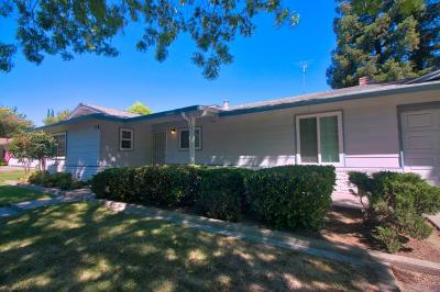 Modesto Single Family Home Pending Show For Backups: 1021 W Union Avenue