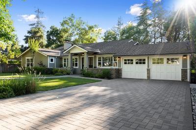 Los Gatos Single Family Home For Sale: 16385 Peacock Lane