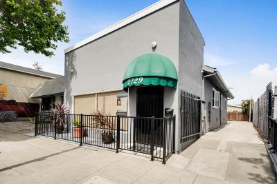 Berkeley Single Family Home For Sale: 2729 San Pablo Avenue