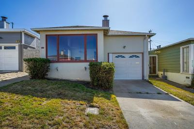 Daly City Single Family Home For Sale: 714 Skyline Drive