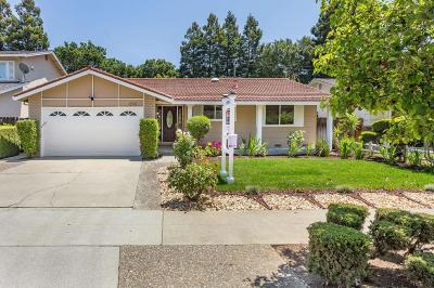 Cupertino Single Family Home For Sale: 1590 Jamestown Drive