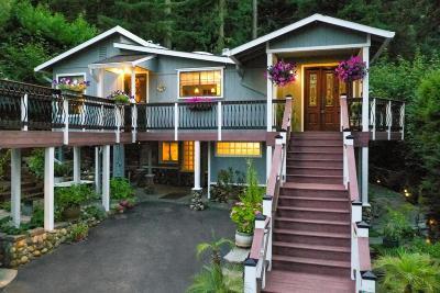 Los Gatos Single Family Home For Sale: 21511 La Verne Drive