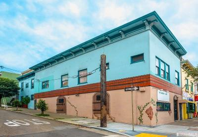 San Francisco Multi Family Home For Sale: 3177-3179 Mission Street