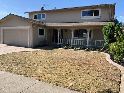 Milpitas Single Family Home For Sale: 1617 Yosemite Drive