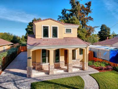 Palo Alto Single Family Home For Sale: 3717 Park Boulevard