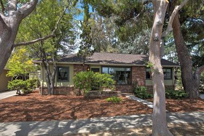 Cupertino Single Family Home For Sale: 10301 S Blaney Avenue