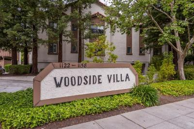 Redwood City Condo/Townhouse For Sale: 1152 Woodside Road