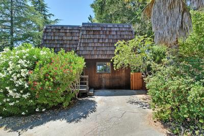 Los Gatos Single Family Home Pending Show For Backups: 23900 Hutchinson Road
