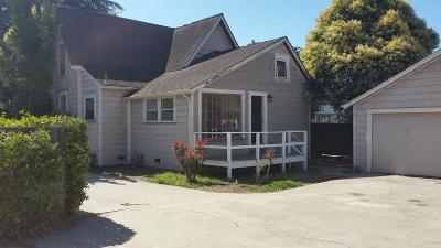 Santa Cruz Single Family Home For Sale: 922 Mission Street