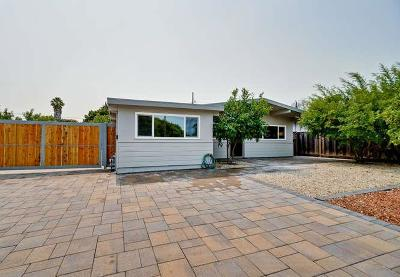 Mountain View Single Family Home For Sale: 819 Leong Drive