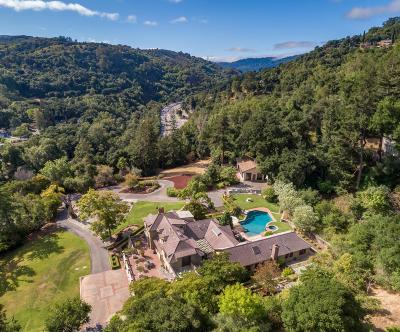 Los Gatos Single Family Home For Sale: 130 Wood Road