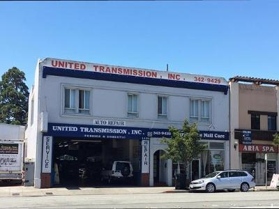 Burlingame Commercial Lease For Lease: 1131 California Drive