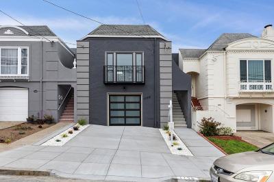 San Francisco Single Family Home For Sale: 1738 35th Avenue