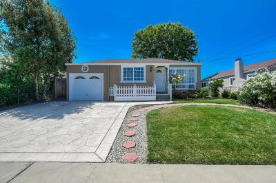 Fremont CA Single Family Home For Sale: $1,299,000