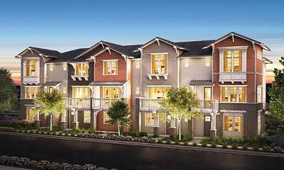 Sunnyvale Condo/Townhouse For Sale: 845 Julian Terrace #5