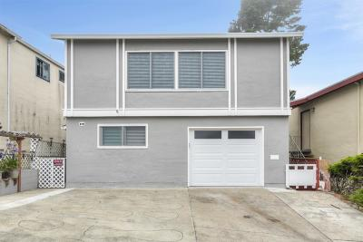 Daly City Single Family Home For Sale: 82 Wakefield Avenue