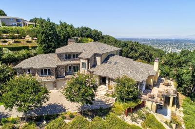 Los Gatos Single Family Home For Sale: 120 Sierra Azule