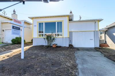 Daly City Single Family Home For Sale: 30 Wavecrest Drive