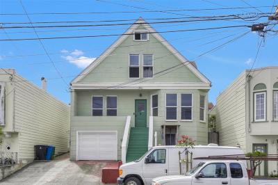 San Francisco Single Family Home For Sale: 177 Wilson Street