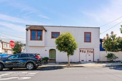 Daly City Single Family Home For Sale: 1101 Brunswick Street
