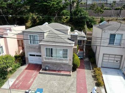 Daly City Single Family Home For Sale: 143 E E. Vista Avenue
