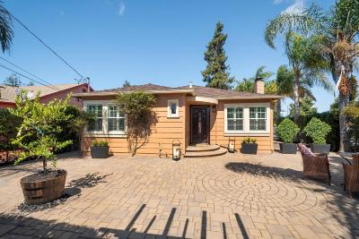 Redwood City Single Family Home For Sale: 627 Spring Street