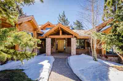 Mammoth Lakes Single Family Home Active-Extended: 9 Juniper Court