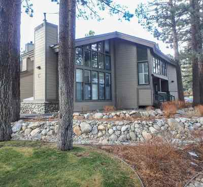 Mammoth Lakes CA Condo/Townhouse For Sale: $399,000