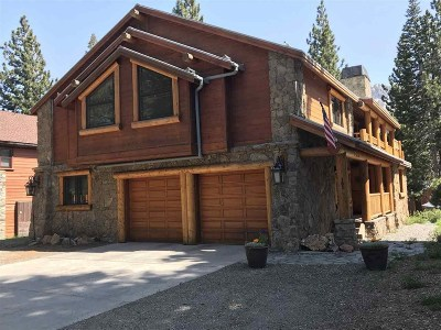 Mammoth Lakes CA Single Family Home For Sale: $1,325,000