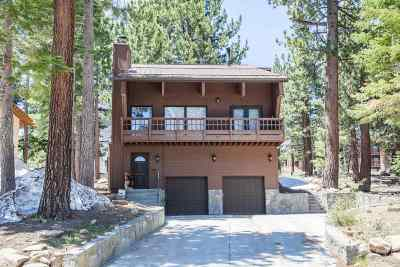 Mammoth Lakes Single Family Home For Sale: 43 Valley Vista Drive