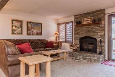 Mammoth Lakes Condo/Townhouse For Sale: 96 Meadow Lane, Unit 19