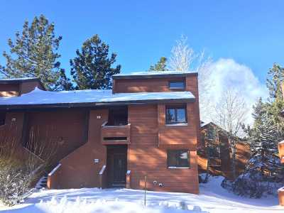 Mammoth Lakes CA Condo/Townhouse For Sale: $379,500
