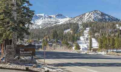 Mammoth Lakes Condo/Townhouse Active Under Contract: 3253 Meridian #107 Boulevard
