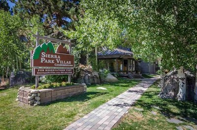 Mammoth Lakes Condo/Townhouse For Sale: 286 Old Mammoth Road