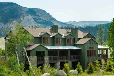 Mammoth Lakes CA Condo/Townhouse For Sale: $824,900