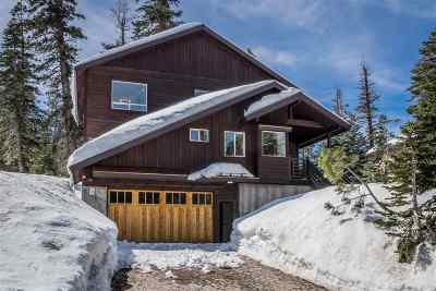 Mammoth Lakes Single Family Home Active Under Contract: 22 Monterey Pines