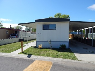 Bishop Mobile Home For Sale: 2312 Tam O'shanter