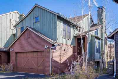 Mammoth Lakes Condo/Townhouse For Sale: 1108 Pyramid Peak Drive
