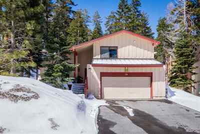 Mammoth Lakes Single Family Home Active Under Contract: 26 Lee Road