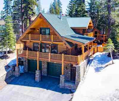 Mammoth Lakes Single Family Home Active Under Contract: 595 Canyon Blvd.