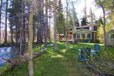 Mammoth Lakes CA Single Family Home For Sale: $1,899,000