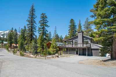 Mammoth Lakes Single Family Home Active Under Contract: 58 Rainbow Lane