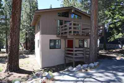 Mammoth Lakes Single Family Home Active Under Contract: 100 Sugar Pine Dr.