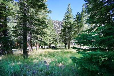 June Lake Residential Lots & Land Active Under Contract: 818 Palisades Drive