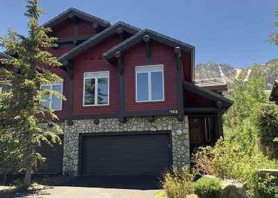 Mammoth Lakes Condo/Townhouse For Sale: 762 Fairway Circle