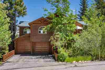 Mammoth Lakes Single Family Home Active Under Contract: 193 Monterey Pine Road