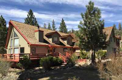 Mammoth Lakes Single Family Home For Sale: 68 Wheeler View Drive
